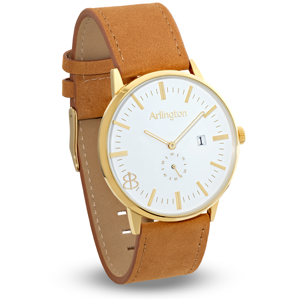 The Arlington | Tan & Gold