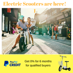 Electric Scooters - your perfect ride this summer!