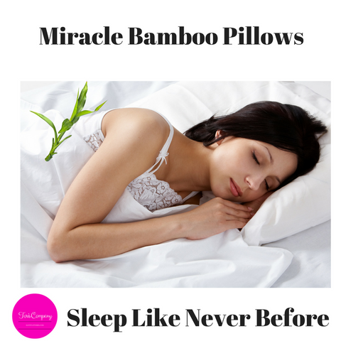 Bamboo Pillows now available at Toris Company
