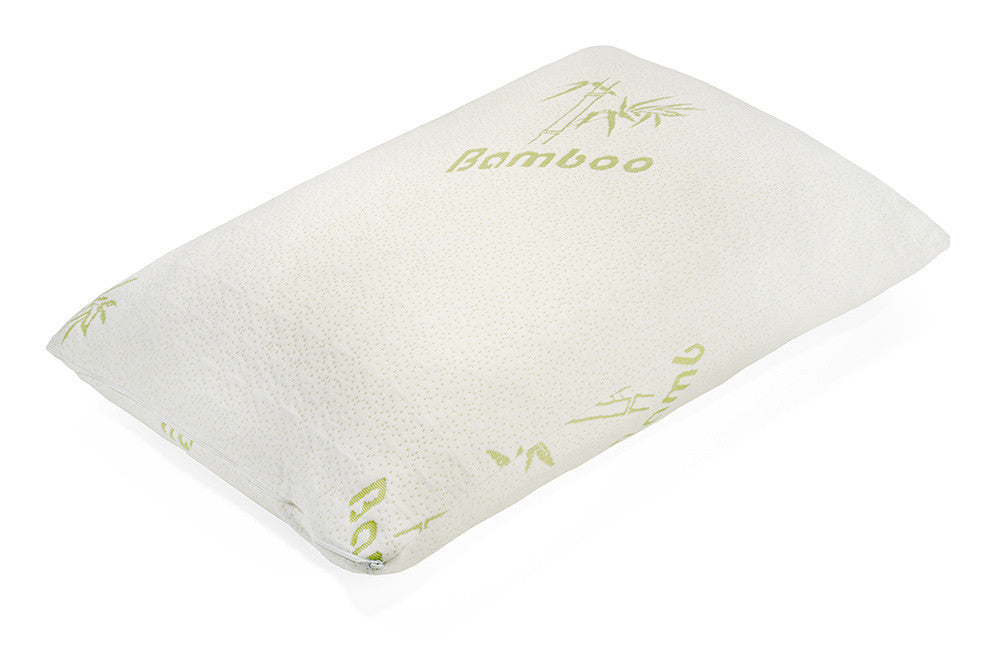 toriu0027s company original bamboo shredded bamboo memory foam pillow with cooling technology and deluxe washable