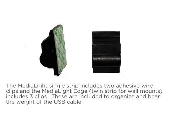 The MediaLight Quad & Quad XL 6500K CRI 95 (for wall mounts) - MediaLight Bias Lighting