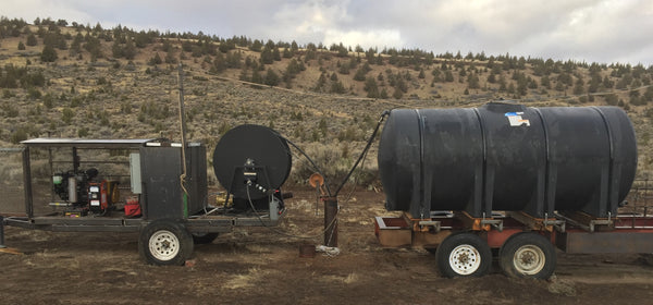 Powering a well water pump in the desert with an Aurora Diesel Generator