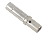Size 12, Solid Socket, 12-14 AWG, Nickel Plated