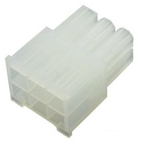 MOLEX Part Number 39-01-2060  6 Pin Receptacle Housing
