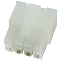 MOLEX Part Number 39-01-2080  8 Pin Receptacle Housing