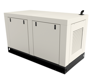 Diesel Generator by AURORA Generators with a Perkins Caterpillar engine.