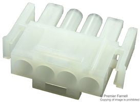 AMP - TE CONNECTIVITY 1-480702-0 Connector Housing  | 4 Positions