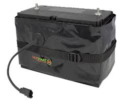 Hotstart Battery Warmer | Battery Wrap, 65W 120 Volt