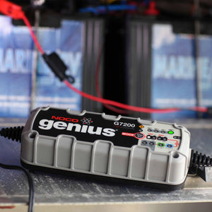 12V & 24V 7.2A UltraSafe Smart Battery Charger