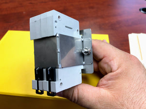 MCB Mounting Kit - Makes mounting miniature circuit breakers easy.