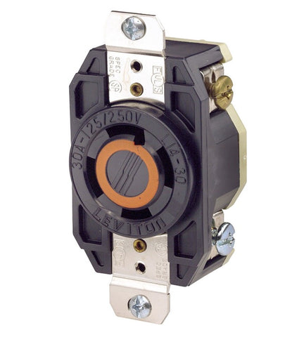 L14-30 | 30 AMP, 125/250 Volt AC, Receptacle - Twist Lock