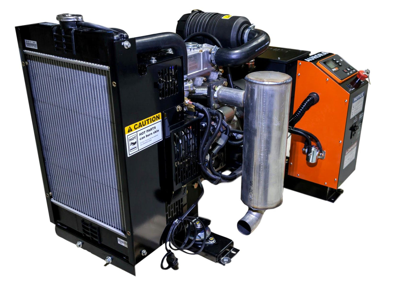 10,000 Watt Inexpensive Perkins Engine Powered Diesel Generator