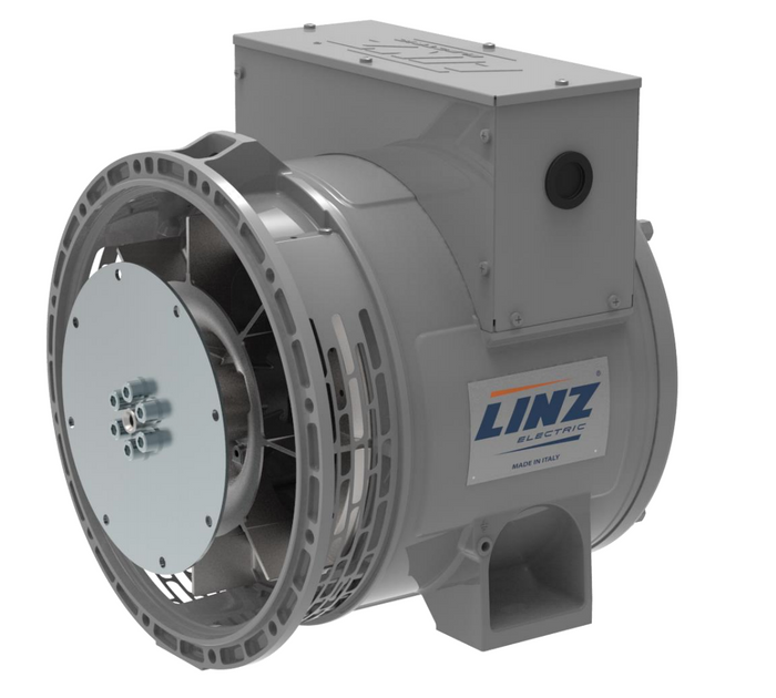 20 kW Linz Alternator 120/240 Volt | 1800 RPM | SAE4 SAE7.5 | SLS18MD