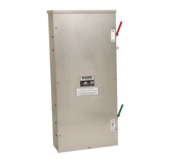 200 Amp | Manual Transfer Switch | Plus Fused Disconnect | SE Rated