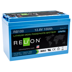 RB100 12V 100Ah LiFePO4 Battery
