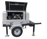 10 kW Generator on Trailer