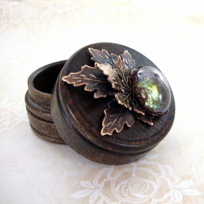 Rustic Woodland Trinket Box