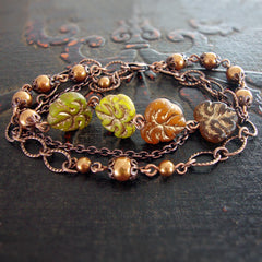 Autumn Multi Strand Bracelet main view