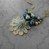 Victorian Mermaid Seashell Necklace view 4
