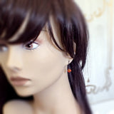 Fallen Phoenix Earrings with Swarovski Crystals mannequin view