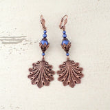 statement sea shore earrings