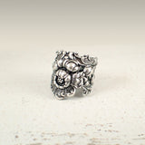 Art Nouveau Style Floral Filigree Ring