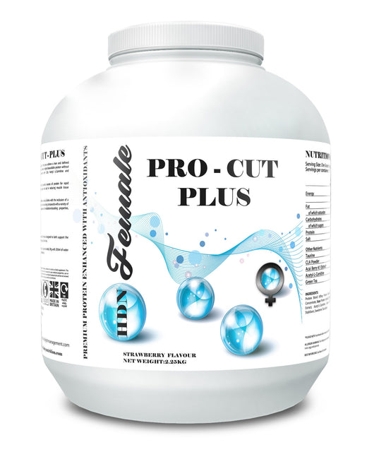 HD Female Nutrition - Pro Cut Plus Diet Protein
