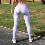 HD Female - Wild - Grey Leopard Gym Outfit HDF400