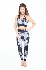 HD Female - Grey Camouflage Crop Top HDF014