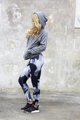 HD Female - Grey Camouflage Outfit HDF403