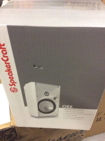 SpeakerCraft OE6 One Main / Stereo Speakers White Each