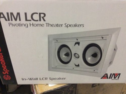 SpeakerCraft AIM LCR 5 Center Speaker Single {BRAND NEW}