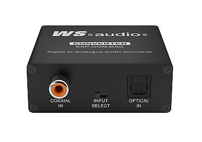 WyreStorm Express™ Digital to Analogue Audio Converter EXP-CON-DAC