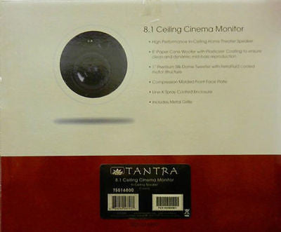 SpeakerCraft Tantra 8.1 Ceiling Cinema  Monitor Speaker each  New in Box