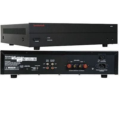 SpeakerCraft BB275 2 Channel  Amplifier 75wx2w/ remote trigger