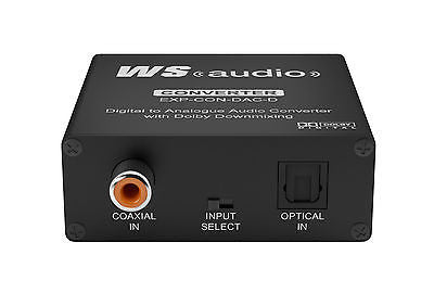WyreStorm Express™EXP-CON-Digital to Analogue Audio Converter with Dolby Downmix
