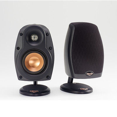 Klipsch Cinema 6 system Features 5 RSX-3 Sats & 1 RCX-3 Center Silver Only!