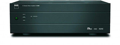 NAD CI9060 6 Channel Power Amplifier 80 watts x6 ATO logic OMC FlexPad {NEW!}