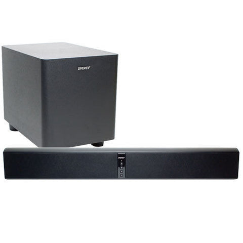 "Klipsch Energy Powerbar Soundbar With Wireless 8"" Subwoofer {Factory Refreshed}"