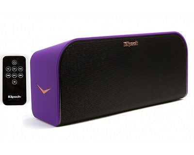 Klipsch KMC-3 Music Center Bluetooth Speaker Purple B-Stock