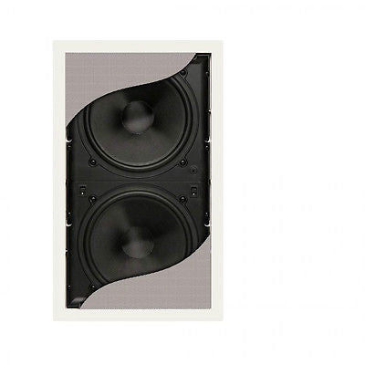 PSB CWS8 Passive In-Wall Subwoofer Dual  8 Big Bass Without the Big Box! CWS-8