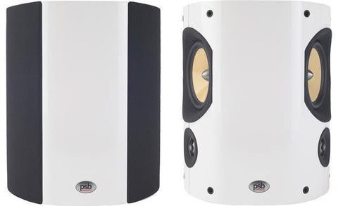 PSB Imagine S Surround Speakers PAIR Gloss White  Rear Speakers {BRAND NEW}