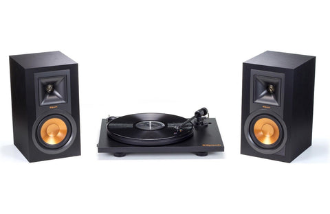 Klipsch  Powered Speakers & Pro-Ject Turntable Bundle B-stock