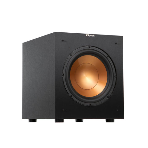 "Klipsch 10"" Black Powered Subwoofer - R-10SW B-stock"