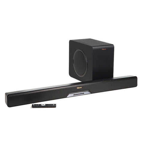 Klipsch Reference RSB-11 Powered sound bar 4K pass, wireless sub & Bluetooth B-stock