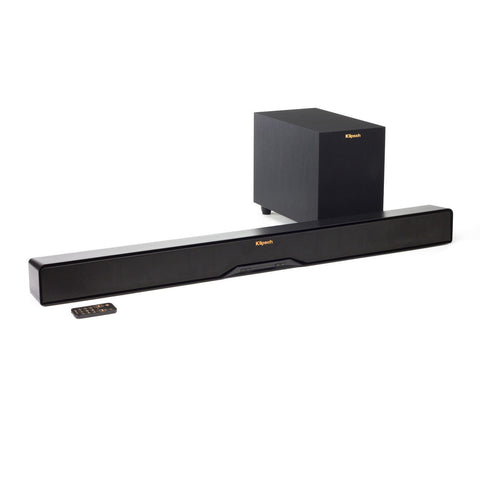Klipsch RSB-6 Black Sound Bar With 6.5 Inch Wireless Subwoofer - RSB6 B-stock