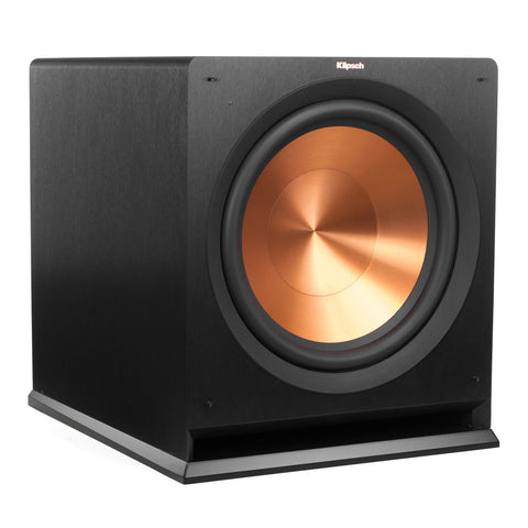 "Klipsch 15"" Black Powered Subwoofer - R-115SW B-stock Scratched On Side"