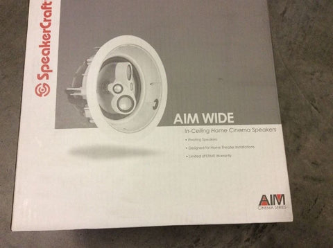 SpeakerCraft AIM Wide One Main / Stereo Speaker single {BRAND NEW}