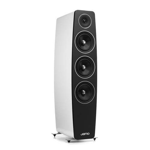 Jamo C 109 Floor Standing Speakers (pr.) High Gloss White Finish