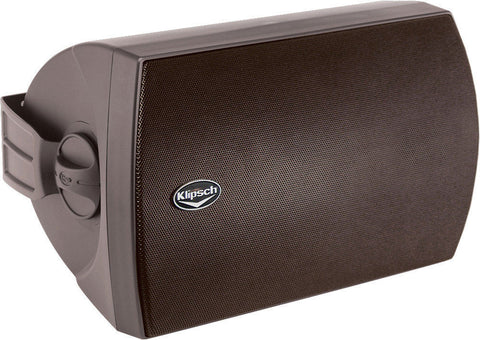 Klipsch AW-650 All Weather Outdoor Speakers Black Pair B-stock